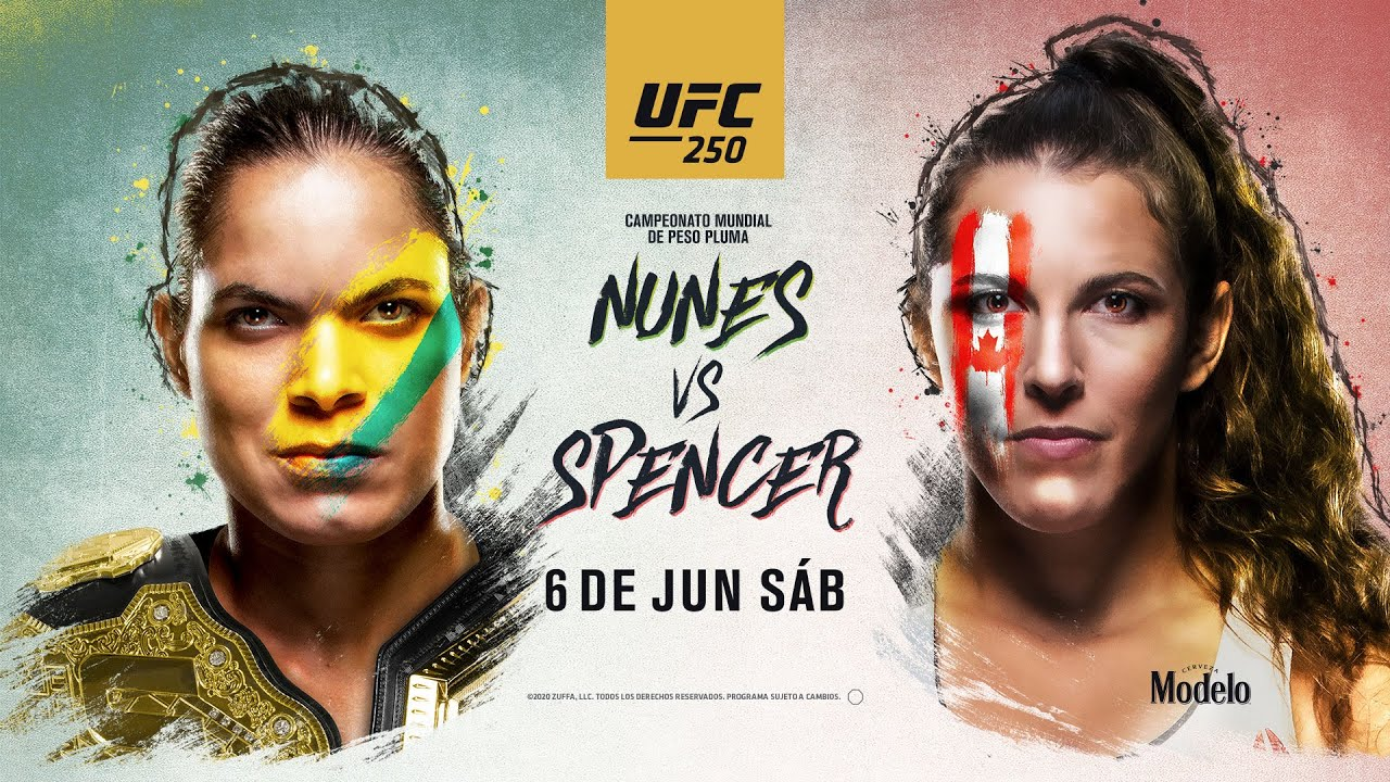 UFC 250 Amanda Nunes vs Felicia Spencer
