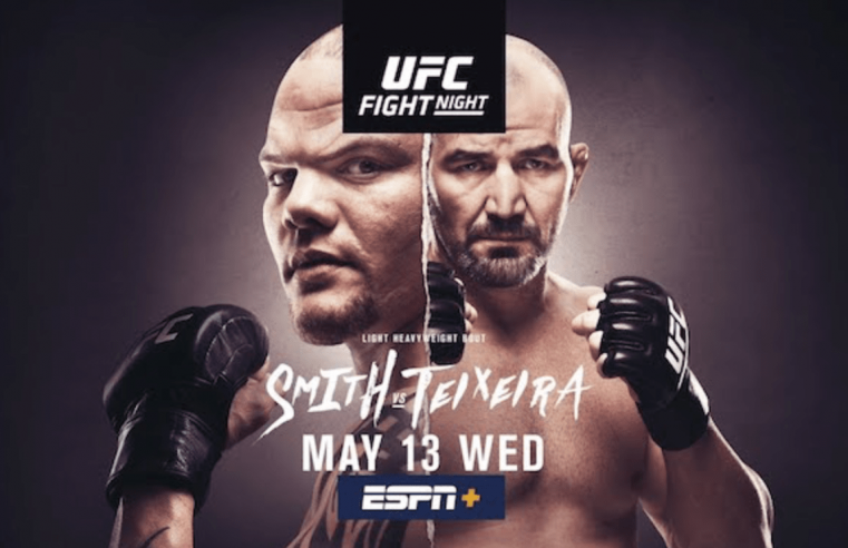 UFC Jacksonville: Smith vs Teixeira Results