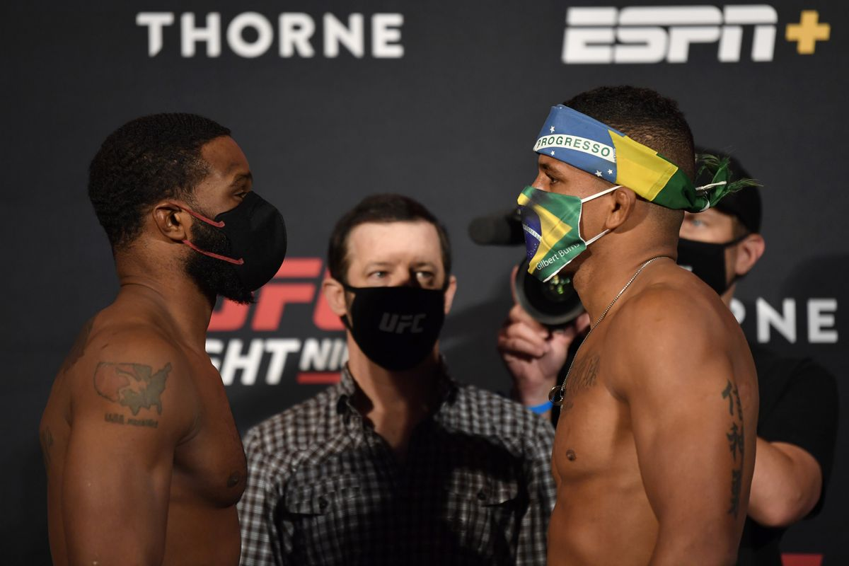UFC Vegas: Woodley vs Burns Results