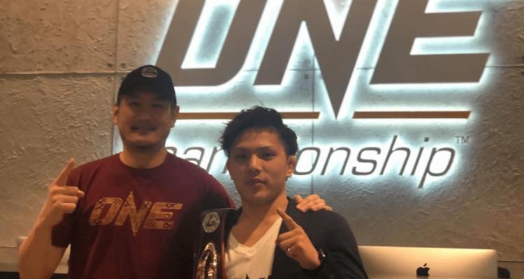 ONE Championship Chatri Sityodtong and Hiroba Minowa