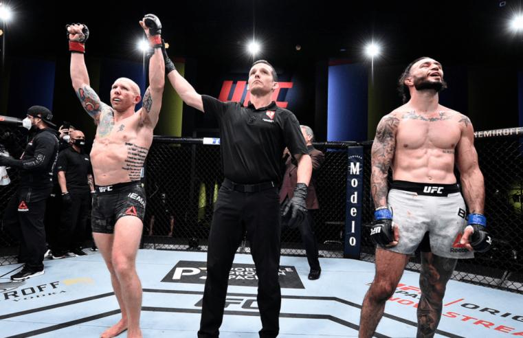 UFC Vegas 3 Salaries And Suspensions