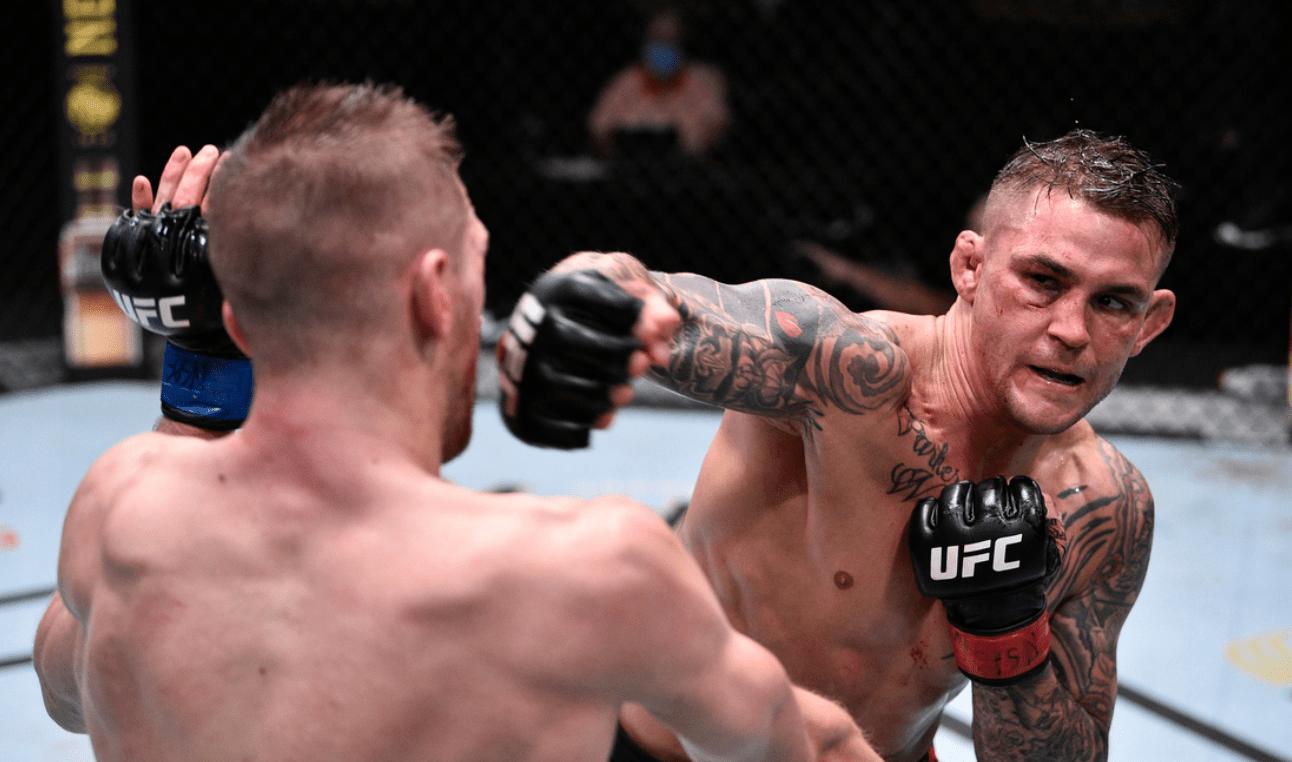 UFC Vegas 4 Dustin Poirier vs Dan Hooker