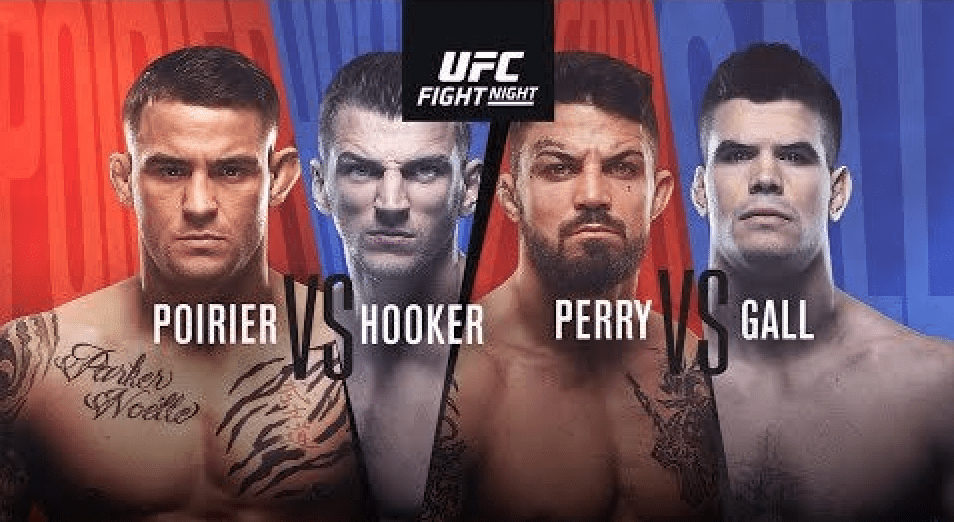 UFC Vegas 4: Poirier vs Hooker Results