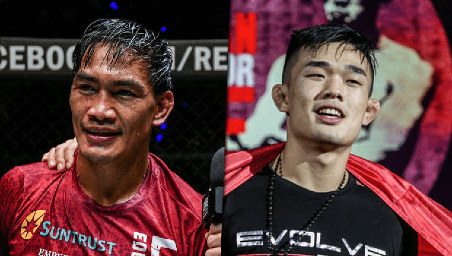 ONE Championship Eduard Folayang and Christian Lee