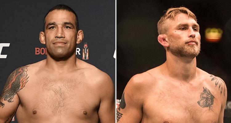 UFC Fabricio Werdum and Alexander Gustafsson