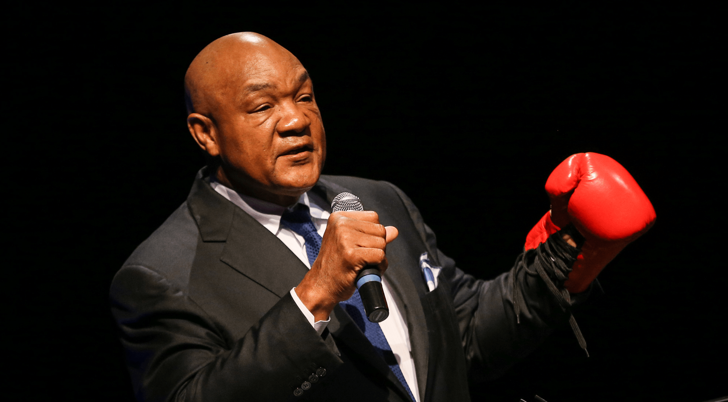 George Foreman Shares His Concerns For Mike Tyson And Roy Jones Jr
