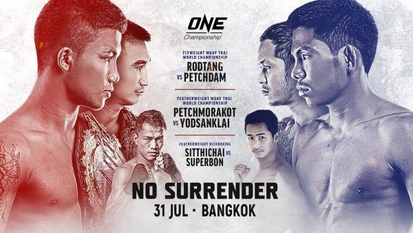 ONE: No Surrender Weigh-In And Hydration Tests Results