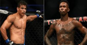 UFC Paulo Costa and Israel Adesanya