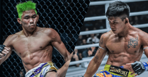 ONE Championship Muay Thai Petchdam and Rodtang