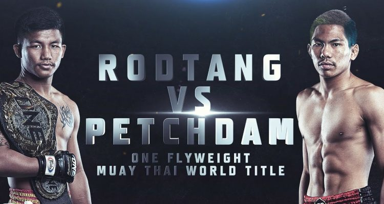 ONE Championship Muay Thai Rodtang vs Petchdam