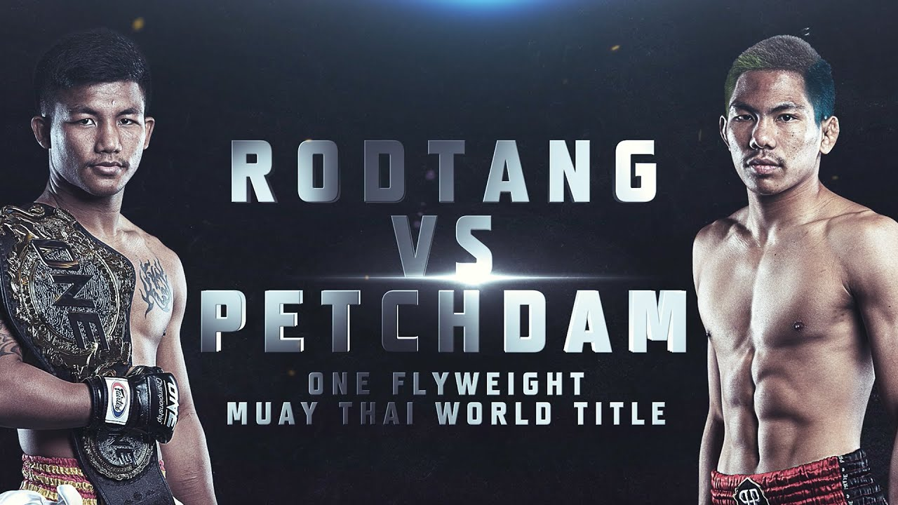 Rodtang Wants To Go Toe-To-Toe With Petchdam At ONE: No Surrender