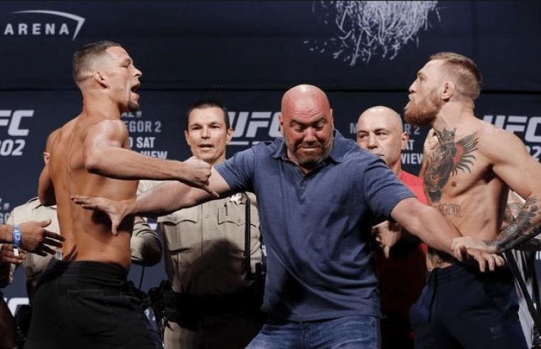 UFC: Conor McGregor And Nate Diaz Continue To Trade Blows