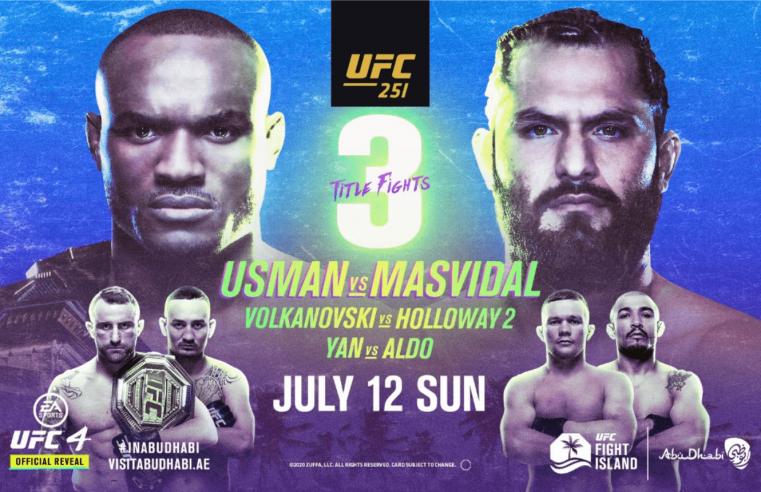 UFC 251: Usman vs Masvidal Results