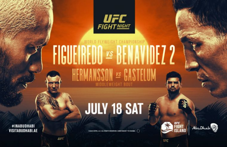 UFC Fight Island 2: Figueiredo vs Benavidez 2 Results