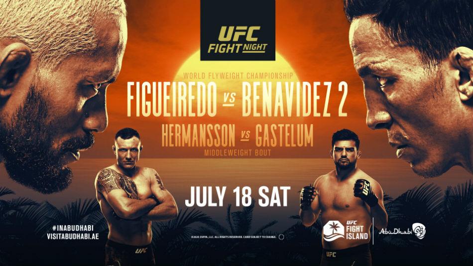 UFC Fight Island 2: Figueiredo vs Benavidez 2 Results