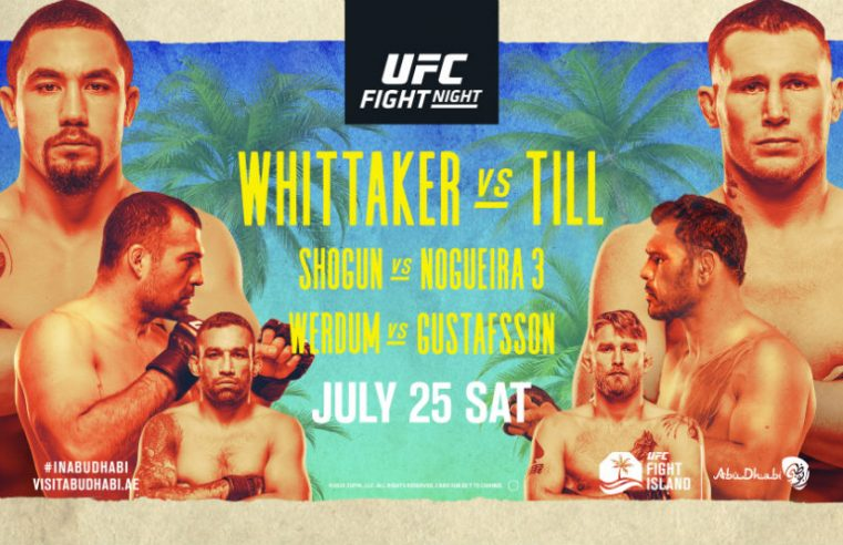 UFC Fight Island 3: Whittaker vs Till Results
