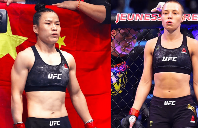 Namajunas Is Predicting A Beautiful Display Of Martial Arts Against Zhang
