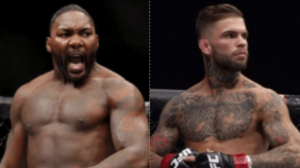 UFC Anthony Rumble Johnson and Cody Garbrandt