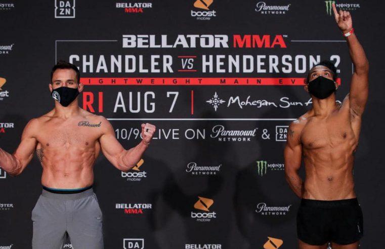 Bellator 243: Chandler vs Henderson 2 Results