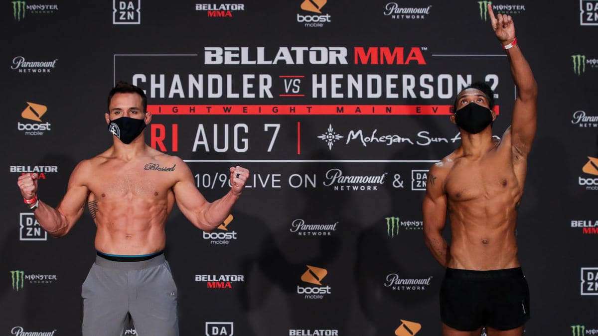 Bellator 243: Chandler vs Henderson 2 Results