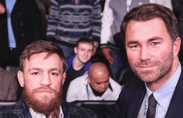 Eddie Hearn: I Am A Big Conor McGregor Fan