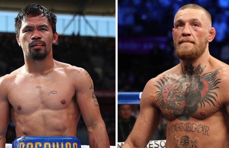 George Foreman Backs Conor McGregor To Beat Manny Pacquiao