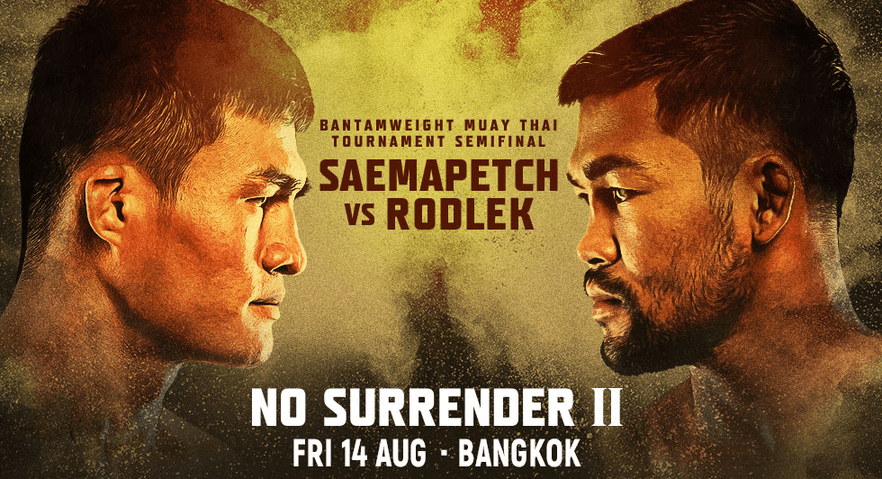 Full Lineups Announced For ONE: No Surrender 2 And 3