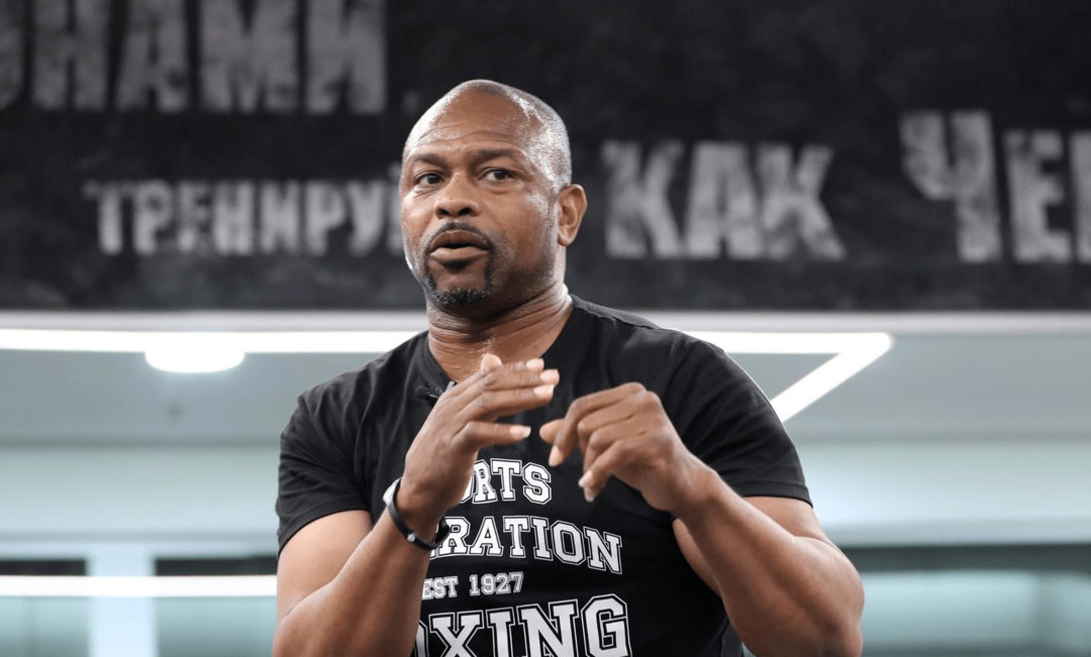 Roy Jones Jr Won't Fight Mike Tyson Unless He Gets A Better Deal
