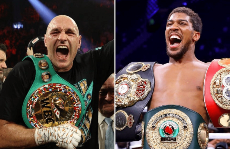 Anthony Joshua Confident He Finishes Tyson Fury In Six Rounds