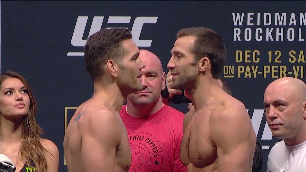 UFC: Chris Weidman Hesitant On Rematch With Critical Luke Rockhold