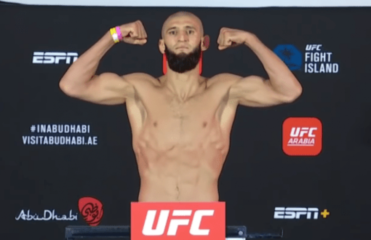 UFC: Khamzat Chimaev Eyes Title Fight With Two More Wins