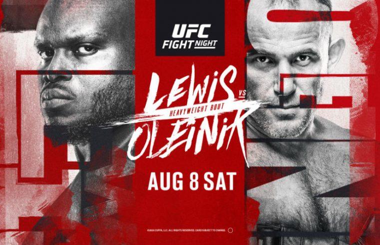 UFC Vegas 6: Lewis vs Oleinik Results