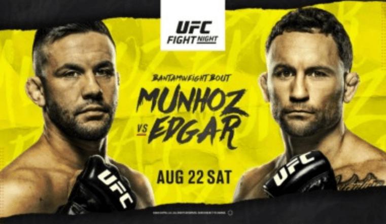UFC Vegas 7: Munhoz vs Edgar Results