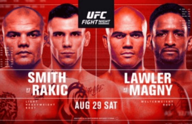 UFC Vegas 8: Smith vs Rakic Results