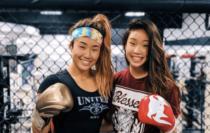 ONE Championship Angela and Victoria Lee
