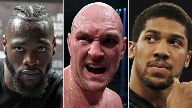 Anthony Joshua Ready To Fight Tyson Fury And Deontay Wilder