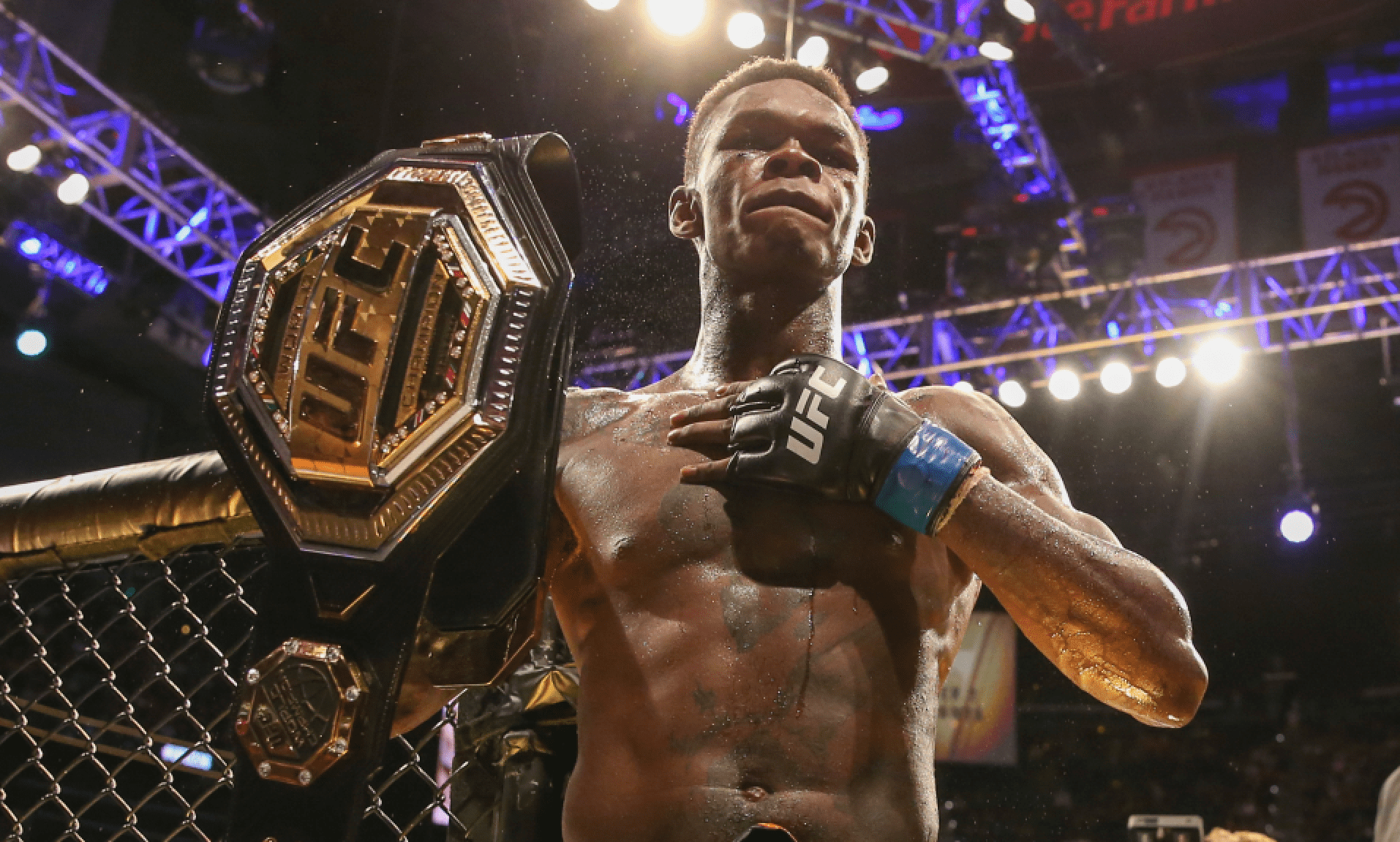 Israel Adesanya Confident Of Fighting Jan Blachowicz Next