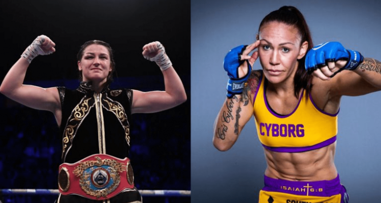 Boxing Katie Taylor and Cris Cyborg