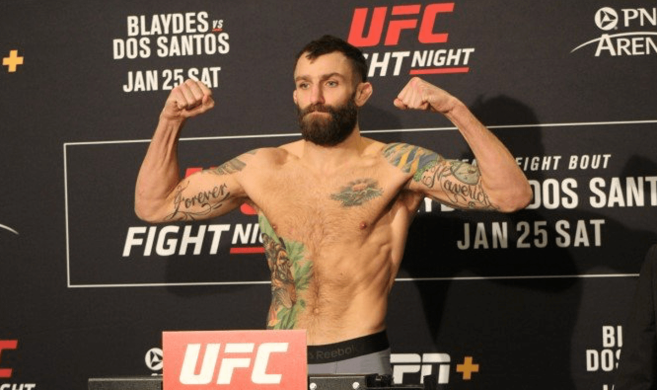 UFC Raleigh Michael Chiesa