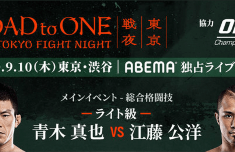 Road To ONE: 3rd Tokyo Fight Night Results And Replay