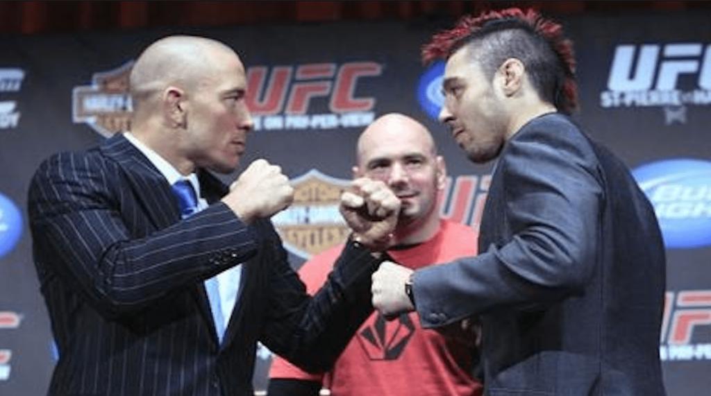 UFC 111 GSP vs Dan Hardy Georges St-Pierre