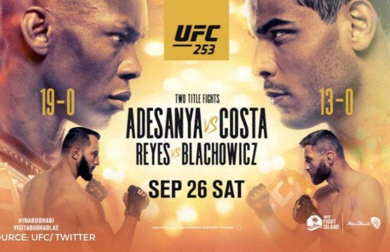 UFC 253: Adesanya vs Costa Results And Post Fight Videos