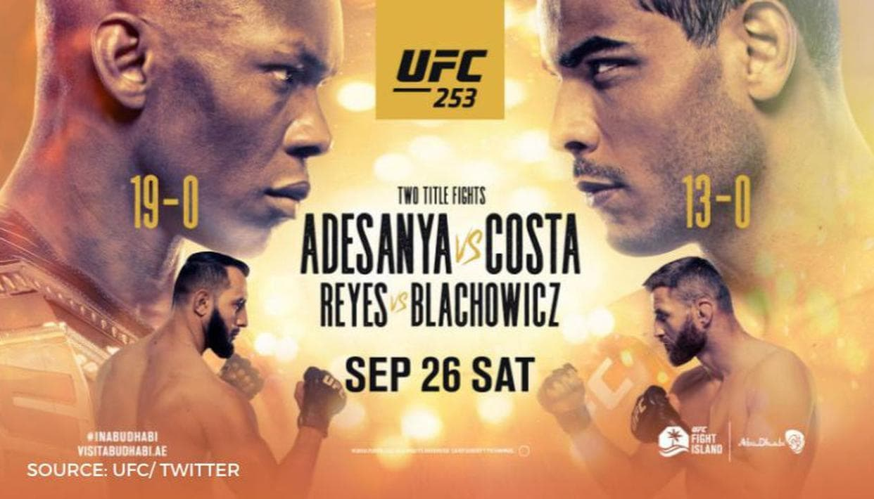 UFC 253: Adesanya vs Costa Results And Post Fight Videos