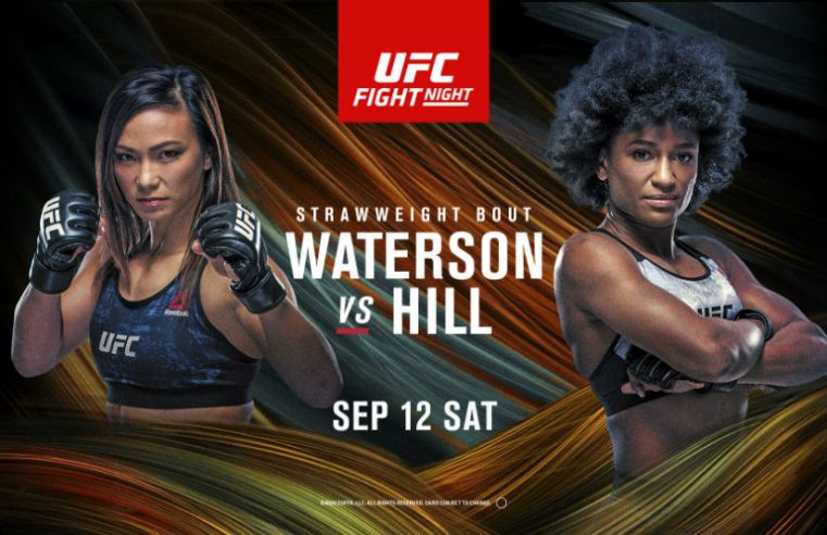UFC Vegas 10: Waterson vs Hill Results