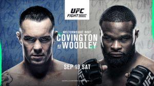 UFC Vegas 11 results Covington vs Woodley