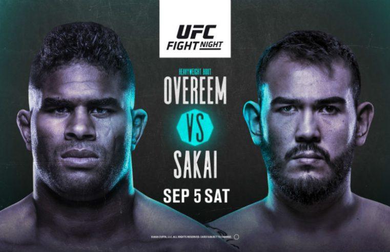 UFC Vegas 9: Overeem vs Sakai Results