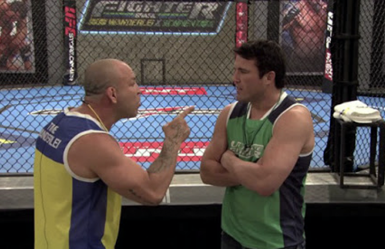 Chael Sonnen Recounts His Infamous TUF Rivalry With Wanderlei Silva