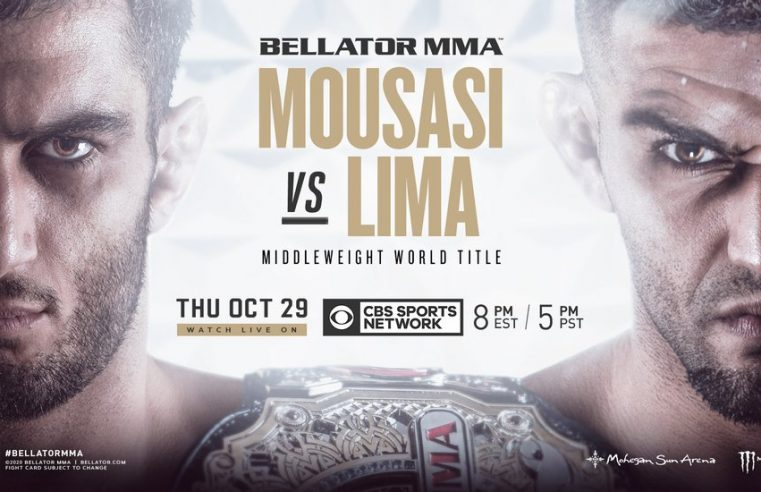 Bellator 250: Mousasi vs Lima Results