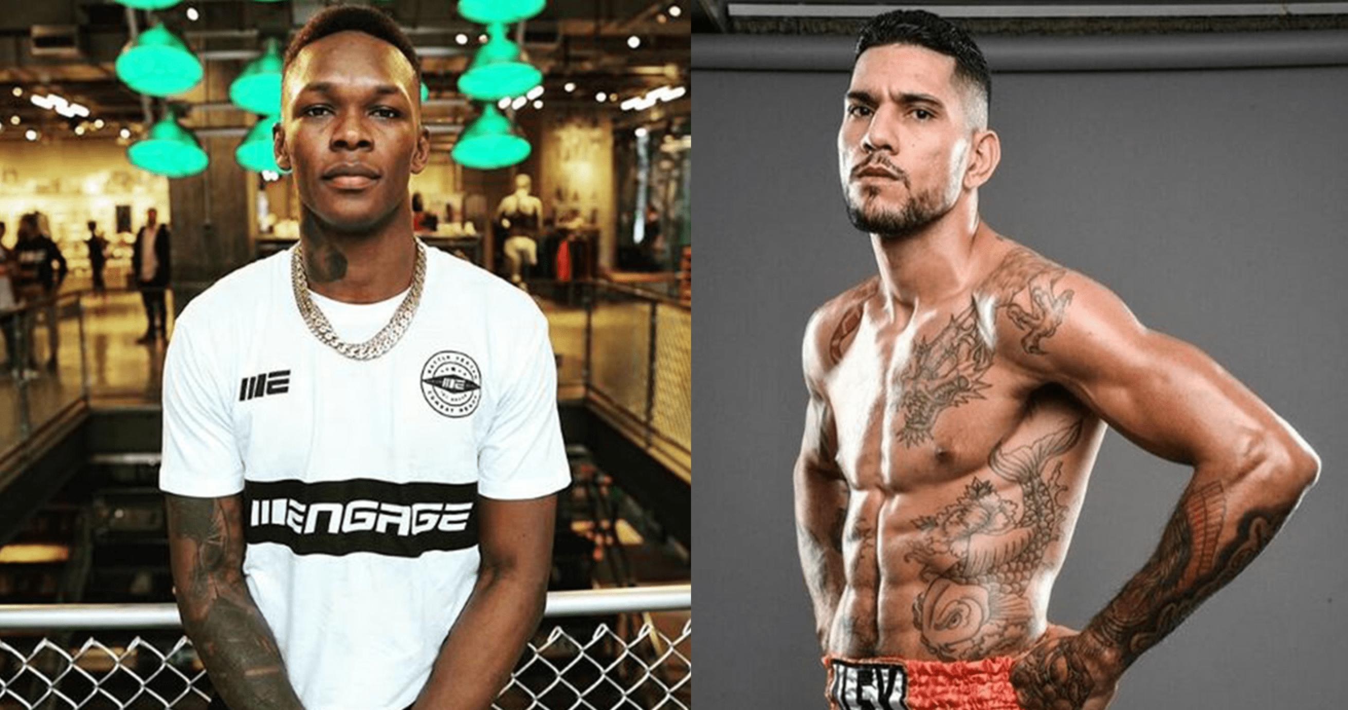 UFC Israel Adesanya and Alex Pereira