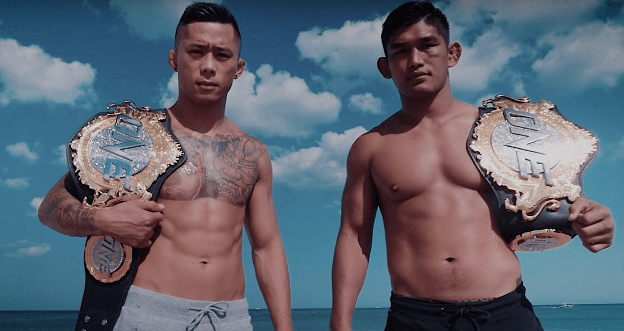 ONE Championship Martin Nguyen and Aung La Nsang